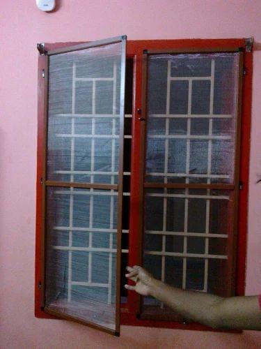 Aluminum Frame Ss Mesh For Window
