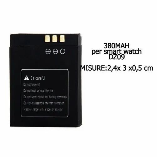 Dz09 Smart Watch Lithium Ion Battery 3 7 V Battery Type Lithium