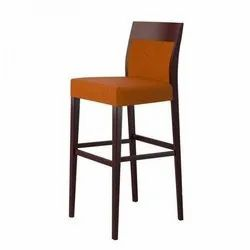 Modern Wooden Bar Chair