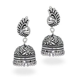 Traditional Oxidized Earrings