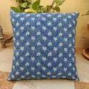 Indigo Cushion Cover Meera Handicrafts