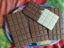 Rectangular Brown Chocolate Bar