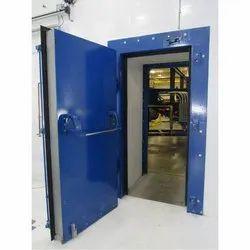 Hinged Acoustic Mild Steel Door