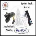 3point Locks, Finish Type: Nickel