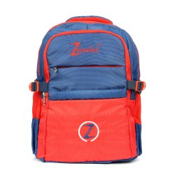 Red & Blue School Backpack
