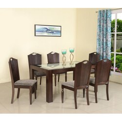 Wesley 6 Seater Expresso Nilkamal Dinning Table