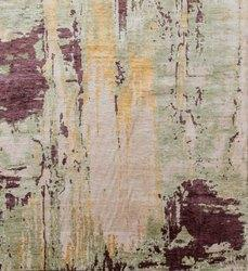 Wool Bamboo Oxidized Rugs & Carpets For Home