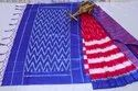 Kalamkari Mysore Silk Saree with Jhalar