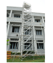 Double Width Mobile Scaffolding With Ladder