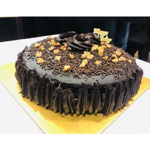 Desserts Calling Chocolate,Walnut Chocolate Walnut Cake, For Birthday Parties, Packaging Type: Box