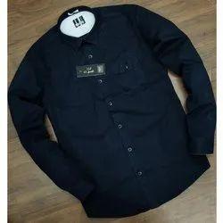 Mark Me Full Sleeve Casual Plain Shirts, Size: XL