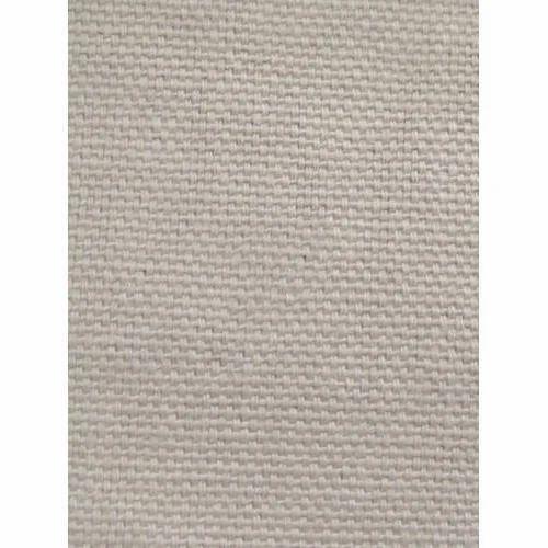 Plain White Cotton Canvas Fabric d2a0900f11a4a