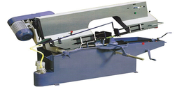 Horizontal Metal Cutting Bandsaw Jk-1hs, Capacity: 200 mm