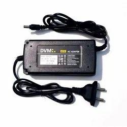 Black Plastic 12v 5Amp Adaptor