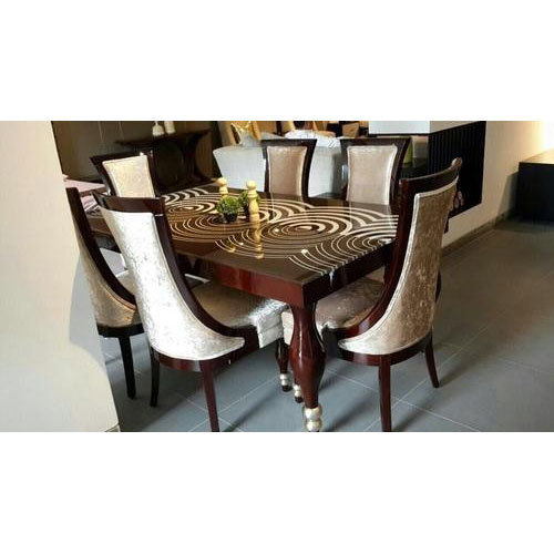 Wooden 6 Seater Dining Table, Rs 75000 /set Dreamland ...