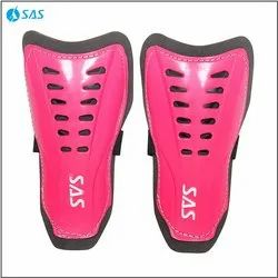 Red, Yellow, Green, Pink SAS Football Shin Guard - Matchlite