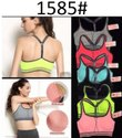 Helisha Y-Back Pattern Padded Sports Bra for Gym Workout Aerobic Free Size  (Removable Pad)