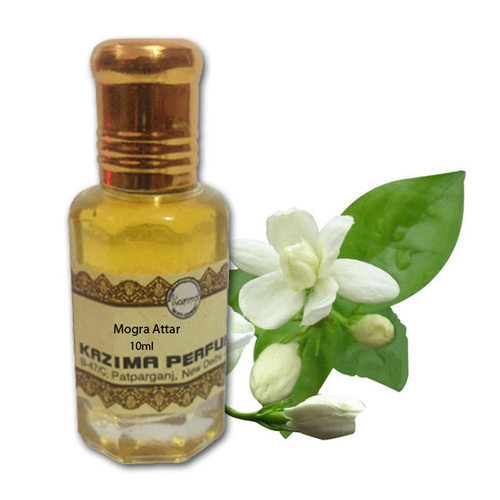 Natural & Alternative Remedies Provided Magic Of India Mogra Fragrant Oil In Roll On Bottle Pack Of 5 Health & Beauty