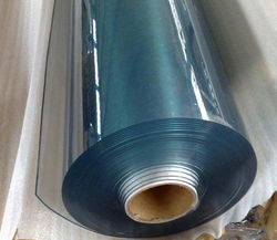 PPI Plain Transparent PVC Sheet, Thickness: 0.4 mm, Size: 1.25 x 10 meters