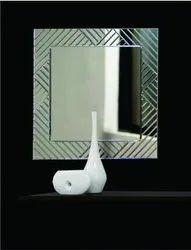Square 5 mm Glass V.Grooving Mirror