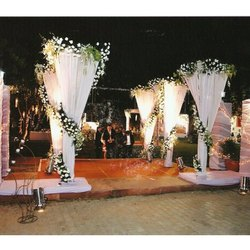 Stage Flower Decoration Services, Pan India
