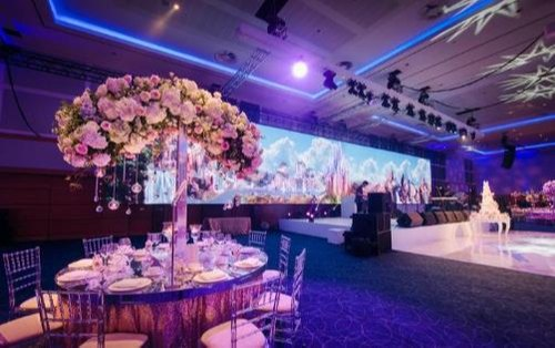 P4 81 Background Led Display Screen For Wedding Stage Decoration