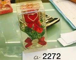 GL-2272 Glass Candle Holder (1 Pc / Pkt)