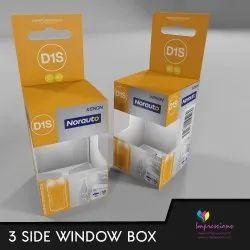 3 Side Window Boxes