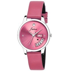 Pink Analogue Women Wrist Watch