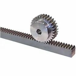 Gear Rack With Gear Pinion