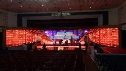 Wedding Stage Decoration With LED Wall