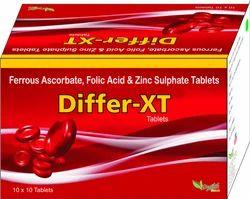 Ferrous Ascorbate, Folic Acid & Zinc Sulphate Tablets