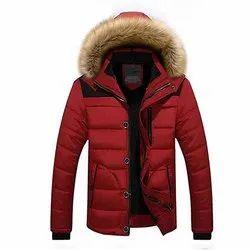 Full Sleeve Microfiber 10dare Thick Winter Jacket