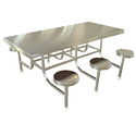 Rupnath Enterprises Stainless Steel Canteen Table