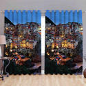 Printed Digital Curtains