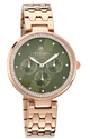 Titan Purple Whimsy Green Dial Multi Function Watch