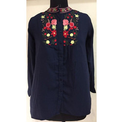 Ladies Casual Printed Shirt