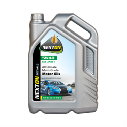 Engine Oil Grade Of 5w40