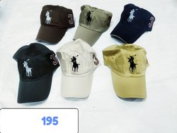 Embroidered Cap Cotton Fashion Caps With Embroidery, Code 195, Size: Regular