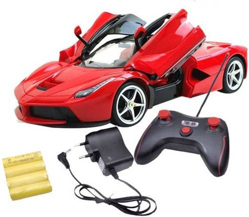 Girls Farrari Style Remote Control Chargeable Car, Rs 720