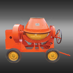 10/7 CFT Portable Type Concrete Mixer