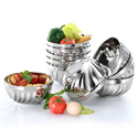 Stainless Steel Capsule Bowl