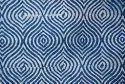 Indian Handmade Indigo Rug Mudcloth Printed Carpet Indigo Blue Hand Block Print Rug