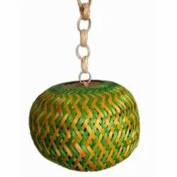 Sphere Hanging Bamboo Lamp