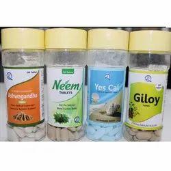 Q Pharm Ashwganda Tablets Gilo/Neem/Yes-Cal