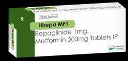 Hirepa MF 1 - Repaglinide 1mg   Metformin 500mg