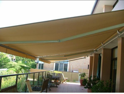 Multicolor Pyramid Patio Awnings