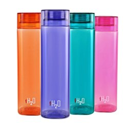 H2O HDPE Cello Ozone Plastic Bottle, Screw Cap, Capacity: 200ml