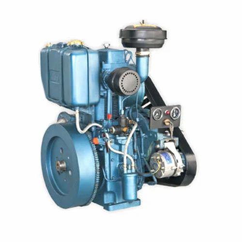 Single Cylinder Air Cooled Diesel Engine, सिंगल सिलेंडर डीज़ल इंजन - Volga  Agencies, Ahmedabad | ID: 18973019473