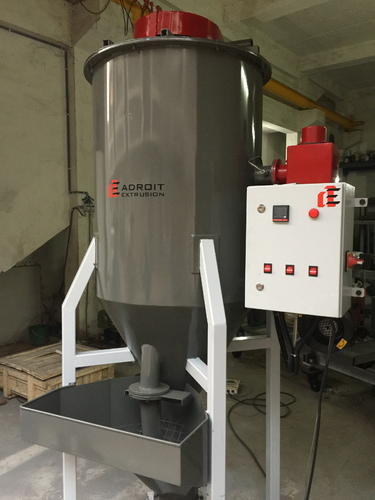 Vertical Granule Mixer Drier Machine 75 kg